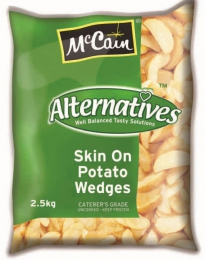 Mc CAIN WEDGES SKIN ON