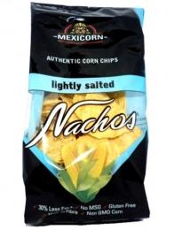 NACHOS MEXICORN ROUND LIGHLTY SALTED