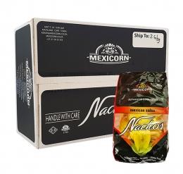 MEXICORN NACHOS ROUND SPICY