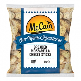Mc CAIN BREADED MOZZARELLA STICKS