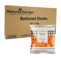 NATURES GARDEN BUTTERNUT CHUNKS 6X1KG