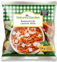 NATURES GARDEN CARROTS MIX HOMESTYLE