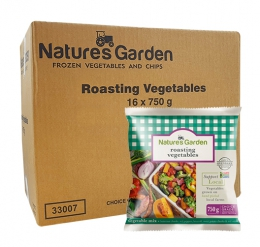 NATURES GARDEN ROASTING VEGETABLES 16X750G