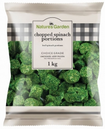 NATURES GARDEN CHOPPED SPINACH