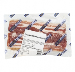 NEWSTYLE CHEF SELECT STREAKY BACON (FROZEN)