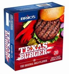 BRITOS BUDGET BEEF TEXAS PATTIES