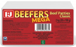 I&J BEEF BURGER BEEFERS