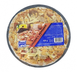 FOODLAND FROZEN CHICKEN & PEPPADEW PIZZA