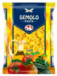 PASTA SEMOLO SHELLS 500G