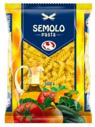 PASTA SEMOLO FUSILLI SCREWS