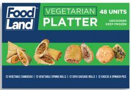 FOODLAND VEGETABLE PLATTERS (8X48)