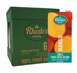JUICE MANGO RHODES FRUIT