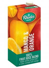 RHODES FRUIT JUICE MANGO & ORANGE