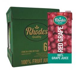JUICE RED GRAPE RHODES FRUIT