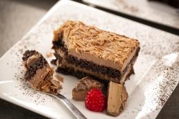 DESSERT BAR ONE MOUSSE CAKE SLICE