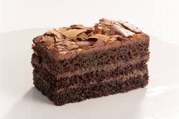 DESSERT DEATH BY CHOCOLATE CAKE SLICE