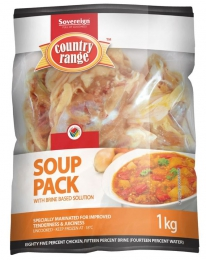 COUNTRY RANGE CHICKEN SOUP PACK (FROZEN) 1KG