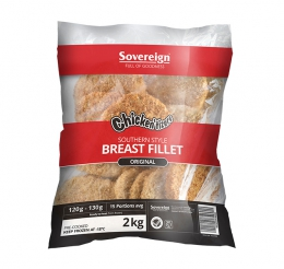 SOV SOUTHERN STYLE CRUMBED BREAST FILLETS (FROZEN)