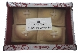 TASTY PASTRY CHICKEN & MAYO PIES