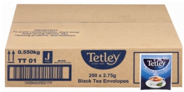 TETLEY BLACK TEABAGS CATERING 200X2.75G