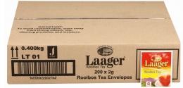 LAAGER ROOIBOS TEA BAGS 200X2G