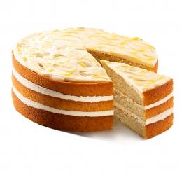 DESSERT TRIPPLE LEMON VELVET CAKE