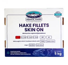 TUNACOR HAKE FILLETS (2/4oz) PORTIONS