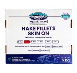 TUNACOR HAKE FILLETS (4/6oz) PORTIONS