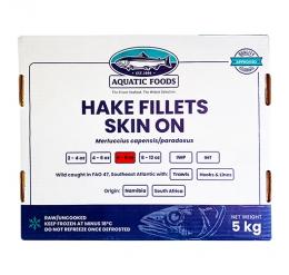TUNACOR HAKE FILLETS (6/8oz)  PORTIONS