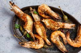 VANNAMEI CUT AND DEVEINED CLEANED PRAWNS (16-20)
